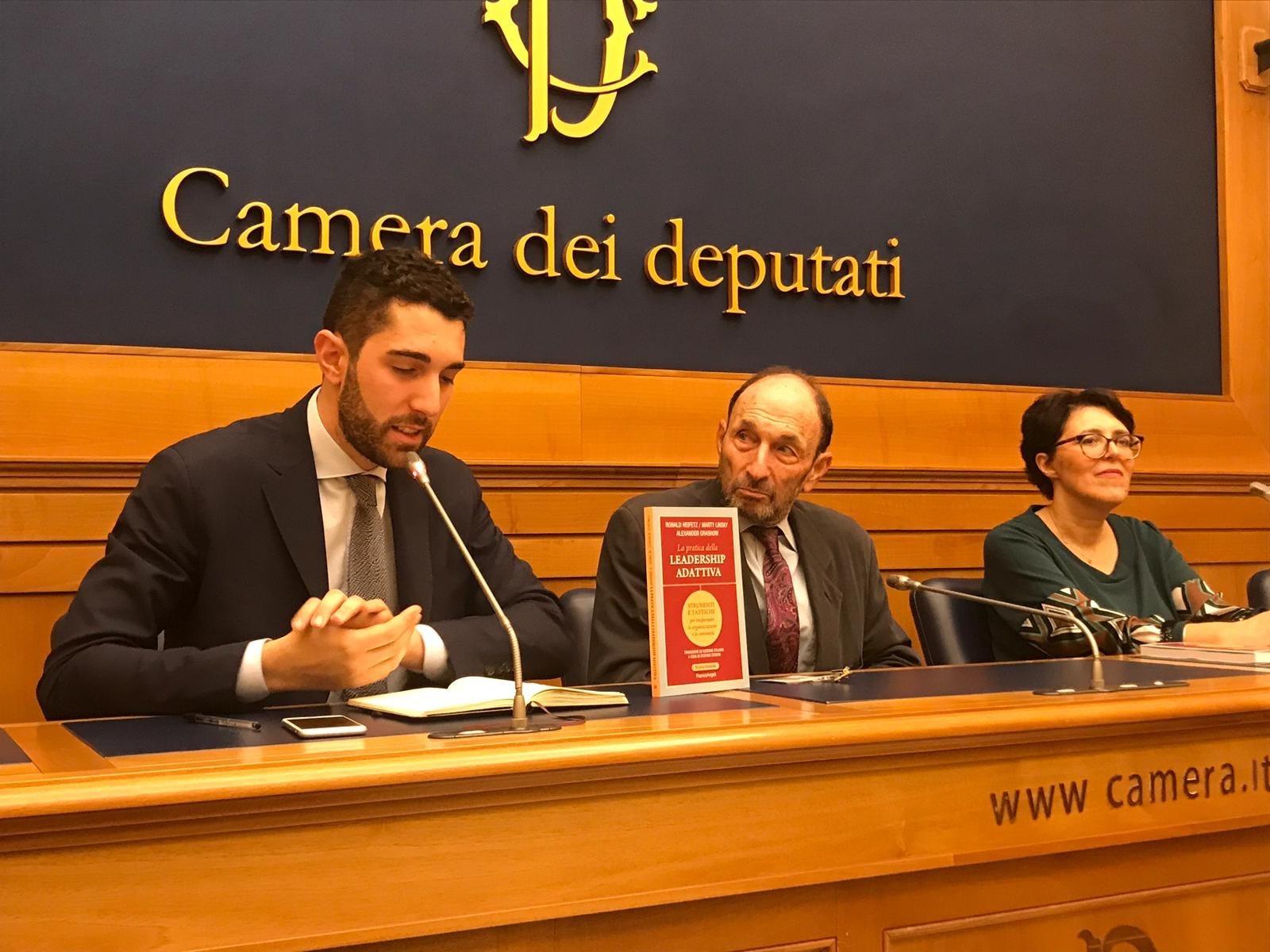"""Presentazione de """"La Pratica della Leadership Adattiva"""" alla Camera dei Deputati"""