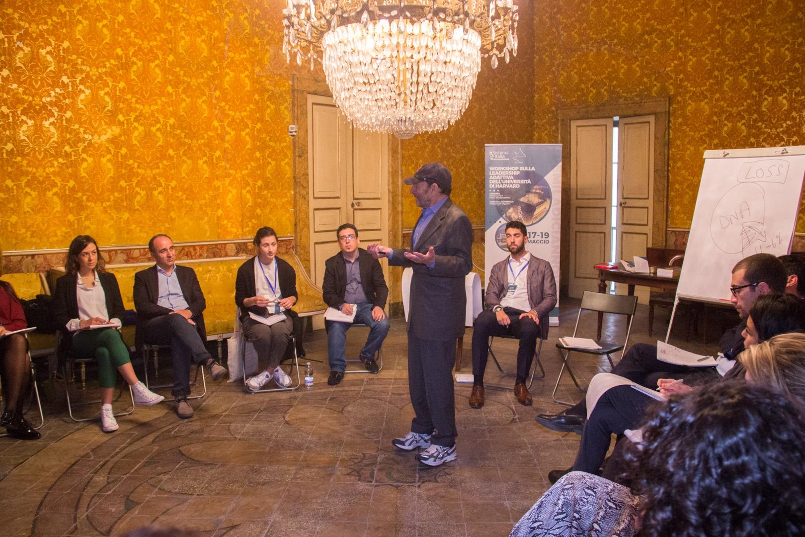 Idea Napoli: Seminario Esperienziale di Leadership Adattiva